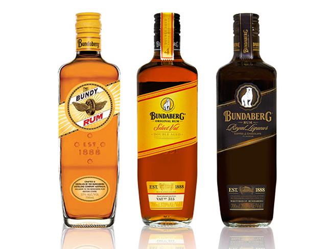 designidentity_bottling_foodanddrink_bundaberg_alcohol_flat_lay_product_photography_campaign